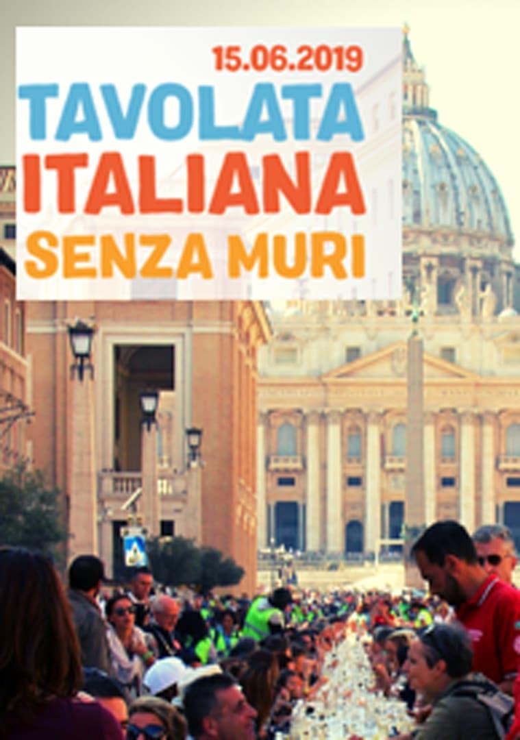 Tavolata Italiana senza muri